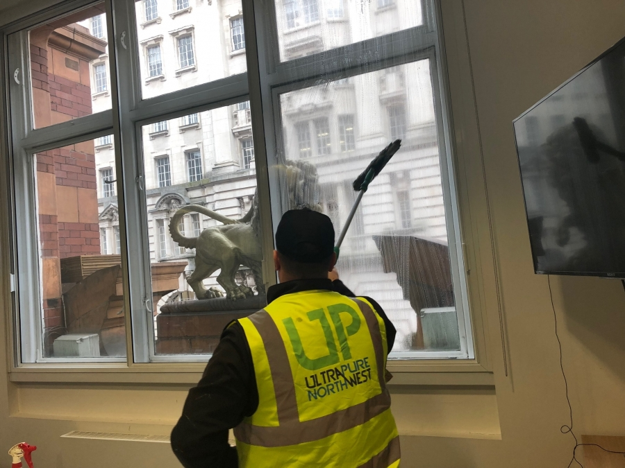 We take on subcontract window cleaning work in Wigan, Bolton and Warrington