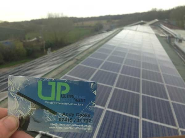 Solar Panel Cleaners in Wigan Leigh Bolton Warrington Manchester
