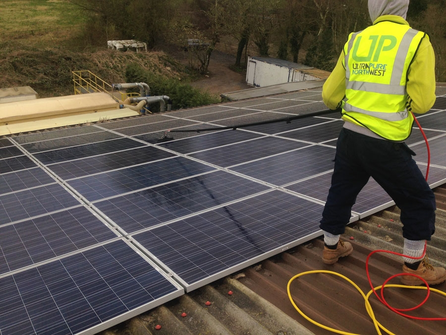 Commercial Solar Panel, Farm Cleaning Wigan, Bolton, Lancashire